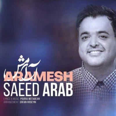 دانلود آهنگ جدید سعید عرب آرامش (اگه تونستی)