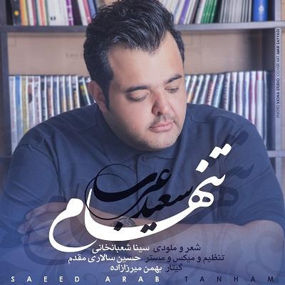 دانلود آهنگ سعید عرب تنهام
