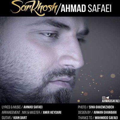 دانلود آهنگ جدید احمد صفایی سرخوش (هر وقت که میبینمت سرخوشم)